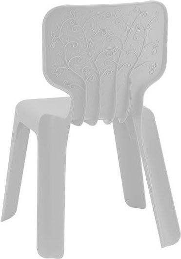 Krzesełko alma białe