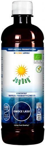 Koncentrat napoju probiotycznego OWOCE LASU BIO 500 ml Joy Day