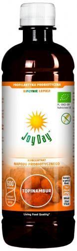 Koncentrat napoju probiotycznego TOPINAMBUR BIO 500 ml Joy Day