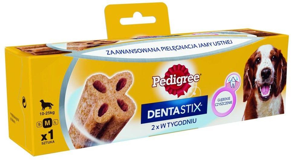 Pedigree DentaStix 2x w tygodniu średnie rasy
