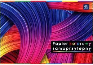 Papier kolorowy samoprzylepny B5 Interdruk
