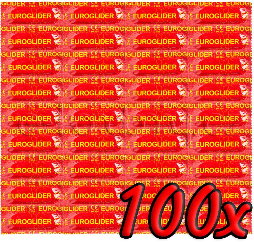 Euroglider Condoms 100 pack