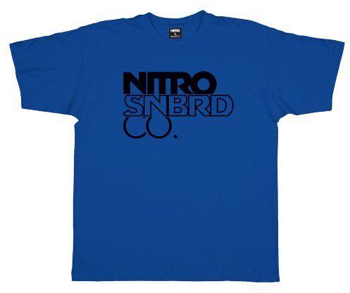 Nitro męski T-shirt WORMARK BIG STACK, true blue, S, 1121-872916_1208