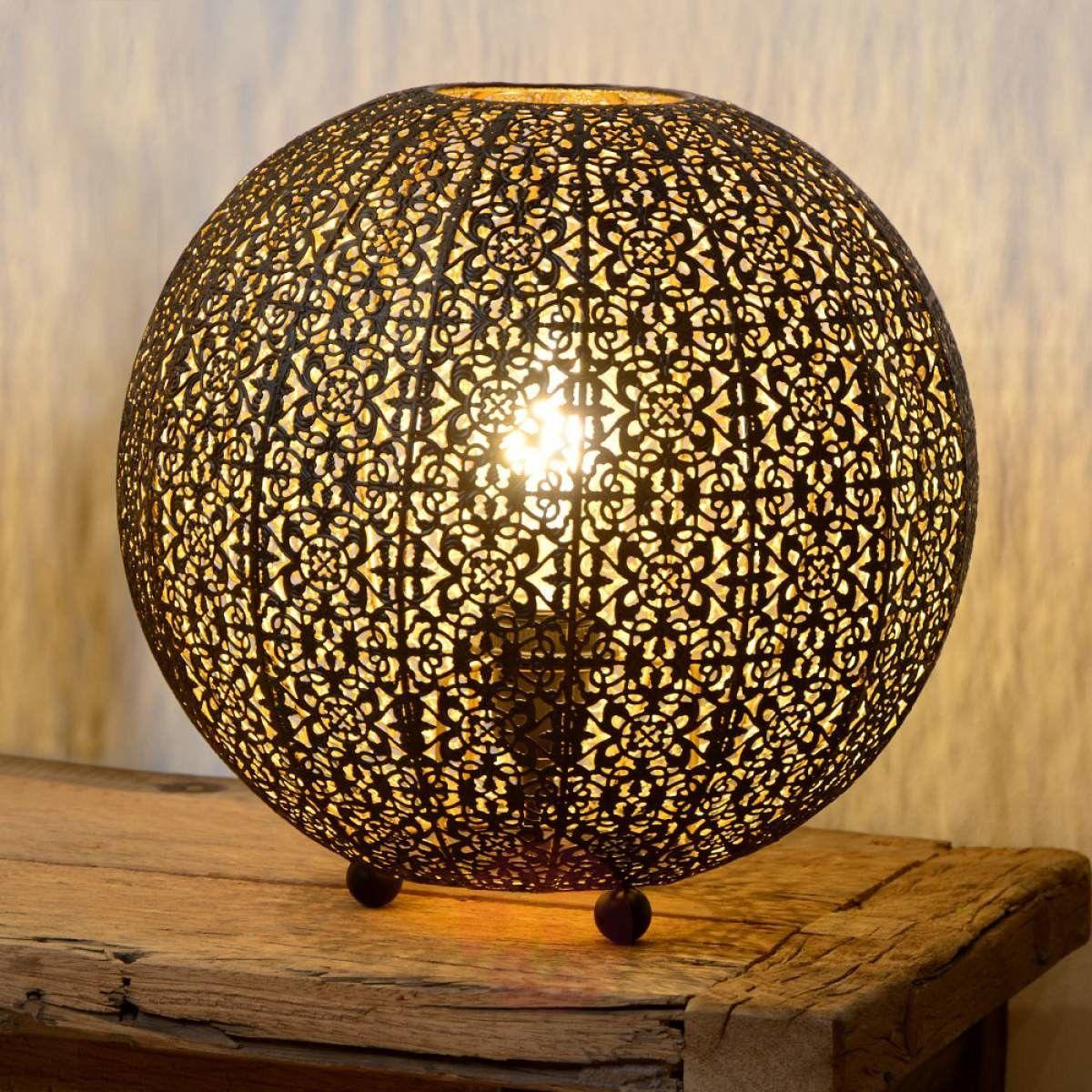 Tahar lampa stołowa 1-punktowa czarna 78583/34/30