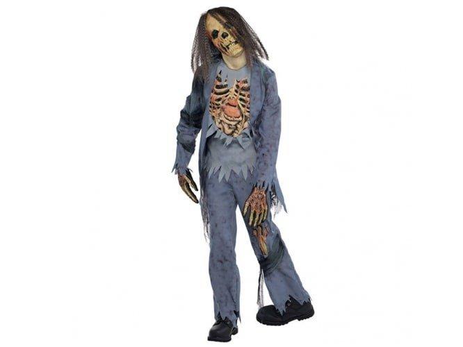 Kostium Szkielet Zombie dla chłopca - 12/14 lat (162)