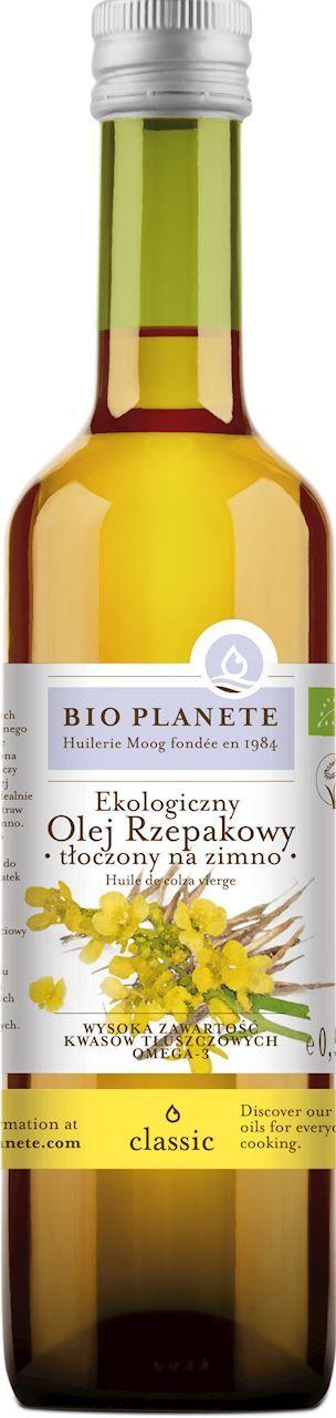 Olej rzepakowy virgin bio 500 ml - bio planete