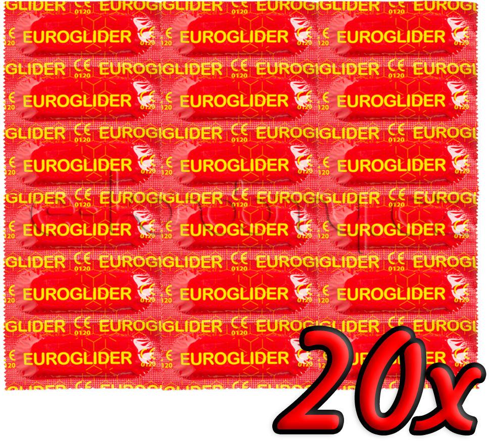 Euroglider Condoms 20 pack