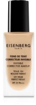 Eisenberg Le Maquillage Fond De Teint Correcteur Invisible make-up naturalny wygląd SPF 25 odcień 02 Naturel Rosé / Natural Rosy 30 ml
