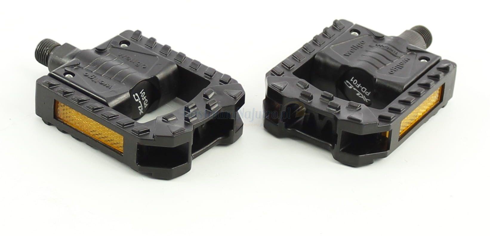 Składane pedały rowerowe XLC PD F01