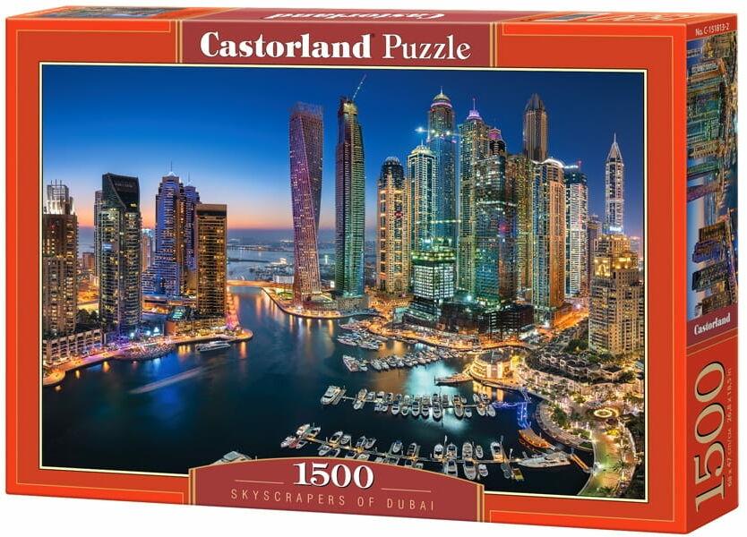 Puzzle 1500 Skyscrapers of Dubai CASTOR