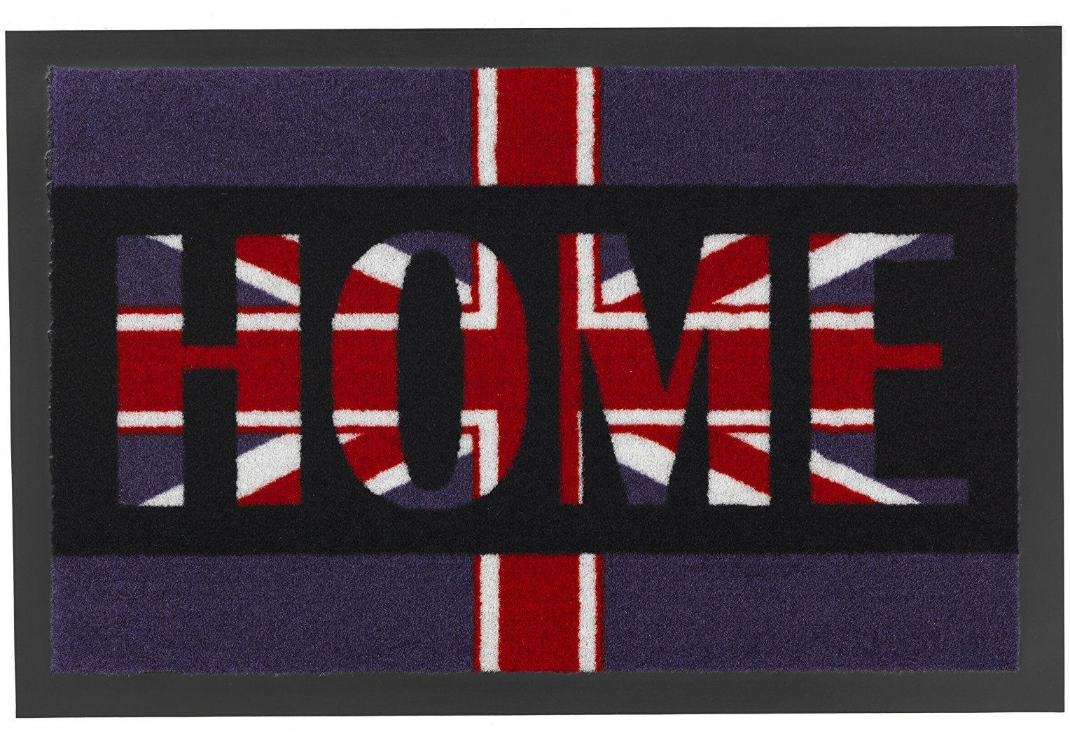 ASTRA 1672015003 Mata, Wycieraczka, Flag Design Home, 39 x 58 cm, liliowa