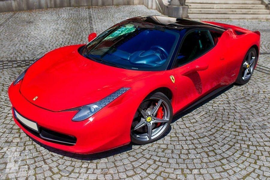 Jazda Ferrari F458 Italia - Koszalin - kierowca - II okrążenia