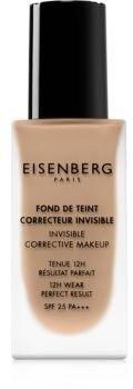 Eisenberg Le Maquillage Fond De Teint Correcteur Invisible make-up naturalny wygląd SPF 25 odcień 04 Natural Hâlé / Natural Tan 30 ml