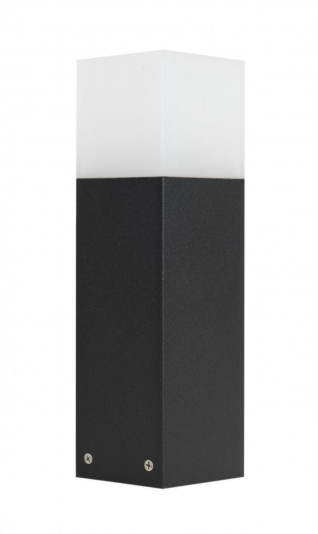 SU-MA Cube CB-330 BL lampa stojąca czarna E27 IP44 33cm