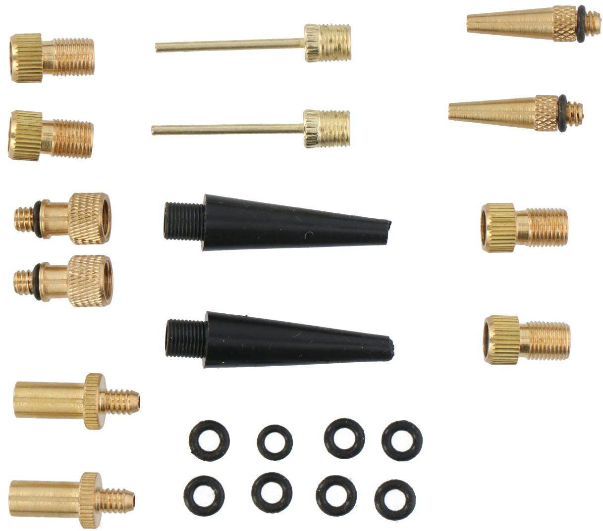 Adaptery do pompki uniwersalne zestaw Dunlop x14