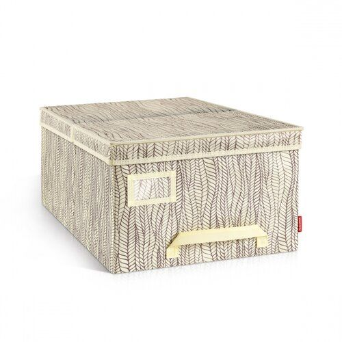 Tescoma Pudełko na odzież FANCY HOME, 40 x 52 x 25 cm, naturalny