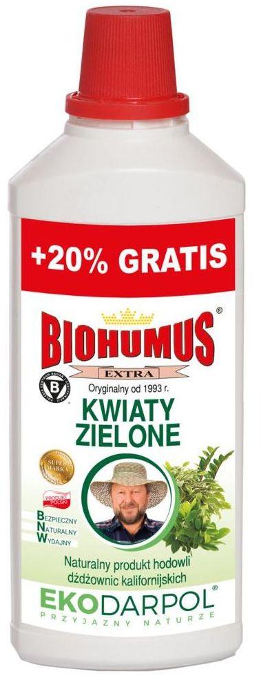 Nawóz organiczny do roślin zielonych 1.2 l BIOHUMUS EXTRA EKODARPOL