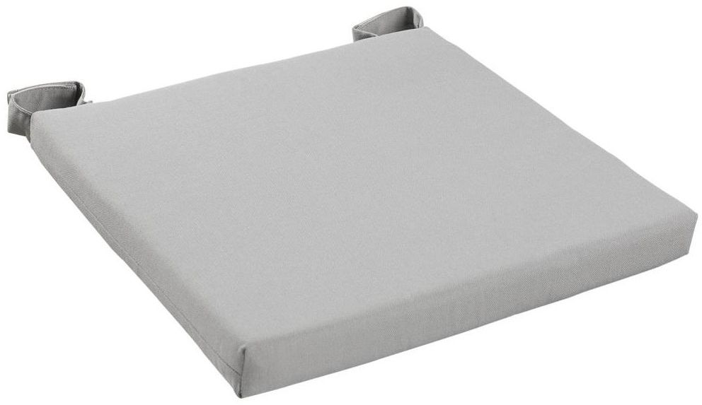 Poduszka na krzesło Joy szara 40 x 40 x 4 cm Inspire