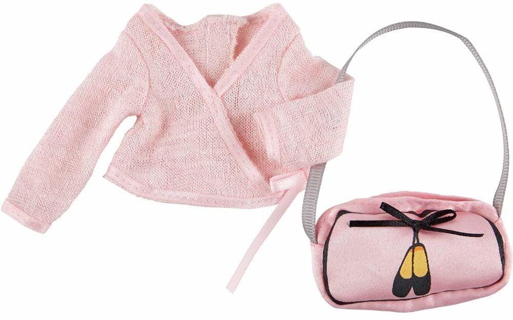 Käthe Kruse 0126863 Vera kurtka baletowa i torba baletowa, różowa