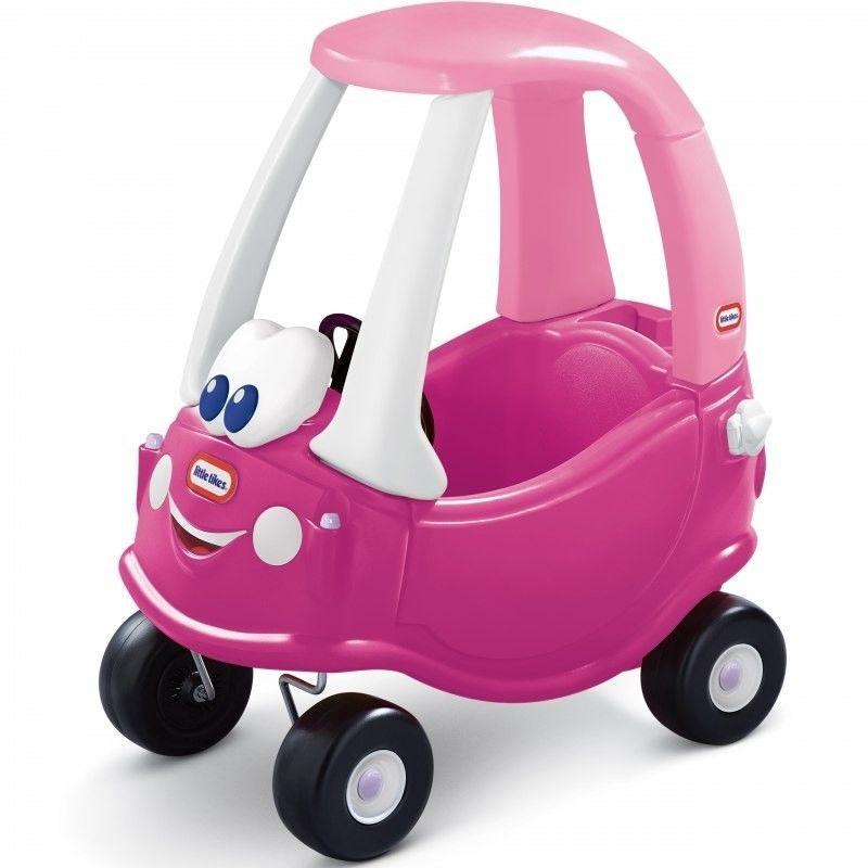 Jeździk Cozy Coupe dla dzieci samochód księżniczki Little Tikes