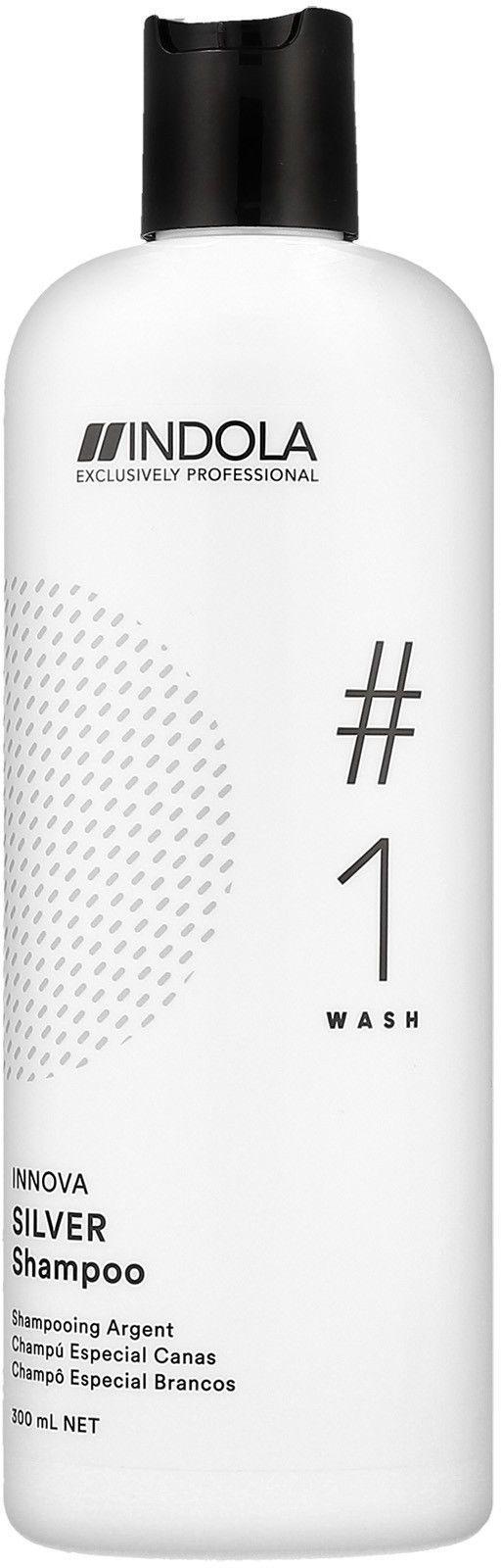 Indola Innova Color Silver szampon do włosów rozjaśnianych, siwych 300ml