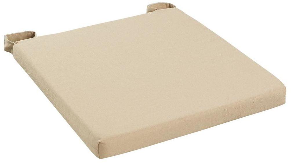 Poduszka na krzesło Joy beżowa 40 x 40 x 4 cm Inspire