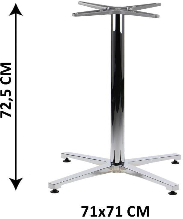 Aluminiowa podstawa stolika SH-7700/A, (stelaż stolika)