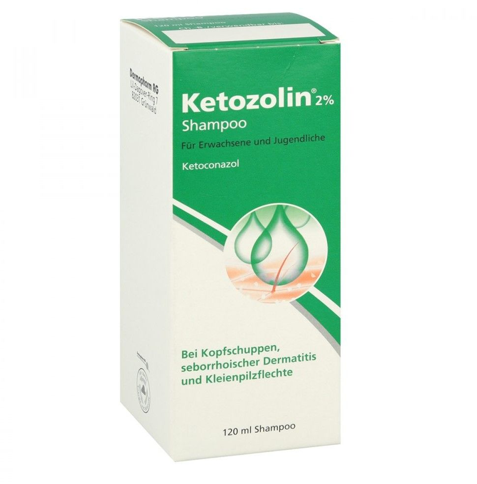 Ketozolin 2% szampon