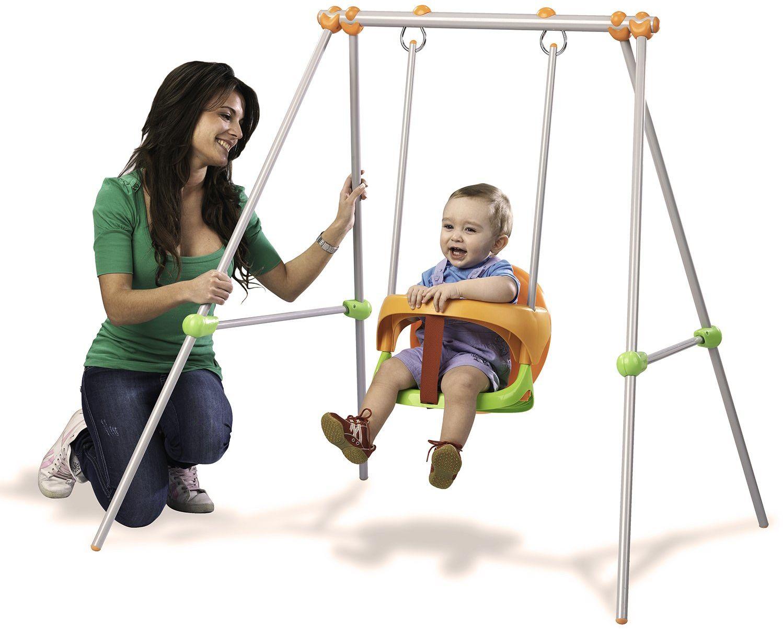 Smoby 310046  metalowa huśtawka Baby Swing