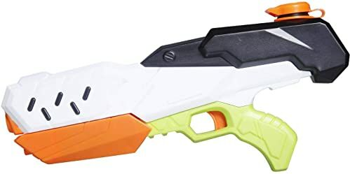 Splash & Fun pistolet na wodę, punkt strzelania i pompki. 34 cm