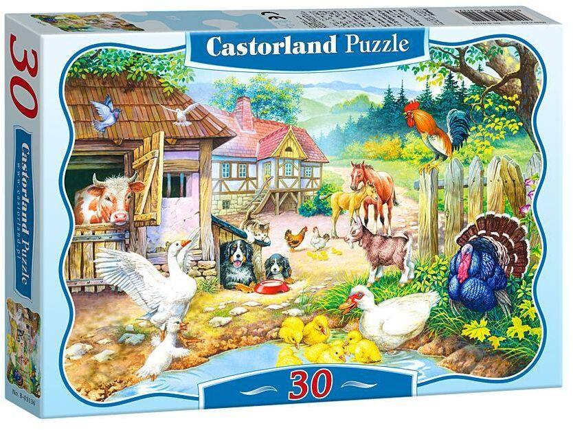 Puzzle 30 Zwierzęta na farmie CASTOR