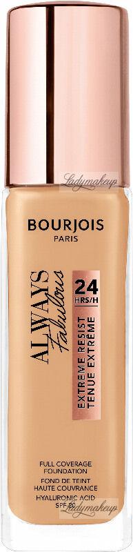 Bourjois - ALWAYS FABULOUS - 24H FULL COVERAGE FOUNDATION - Podkład kryjący - 30 ml - 125 - IVORY