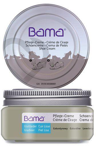 Krem do obuwia BAMA Premium 072 Gabardynowy 50ml w słoiczku - Gabardynowy