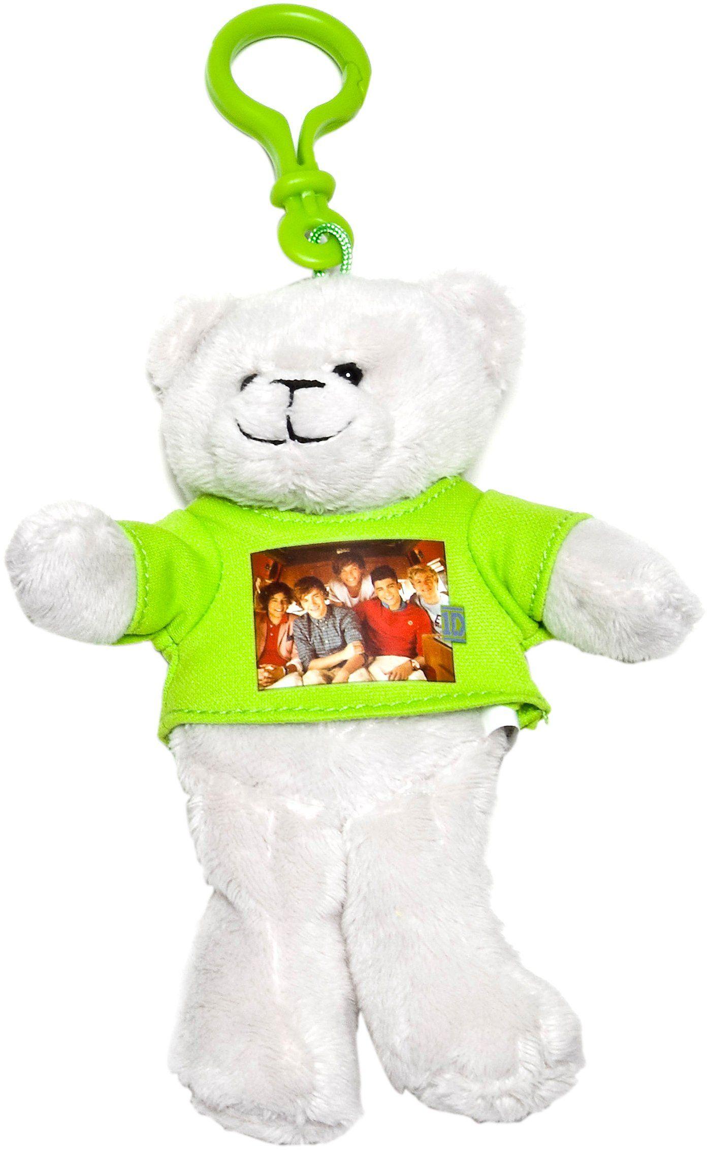 One Direction 52485-1 - Clip On''s / breloczek do kluczy ze zdjęciem grupy, 15 cm