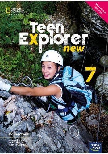 Język angielski teen explorer podręcznik dla klasy 7 szkoły podstawowej 70552 837/4/2020/z1 ZAKŁADKA DO KSIĄŻEK GRATIS DO KAŻDEGO ZAMÓWIENIA