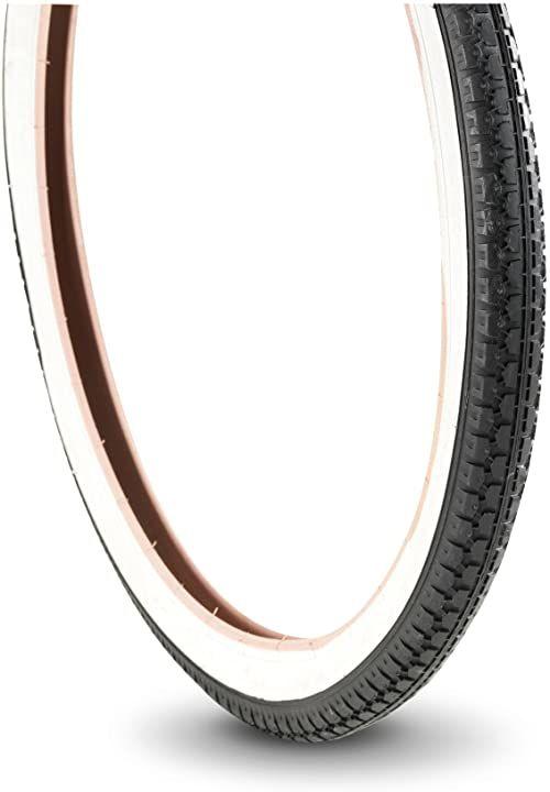 Bottari Bike Męskie gumowe opony rowerowe uliczne, czarne, 20 x 1,75 C