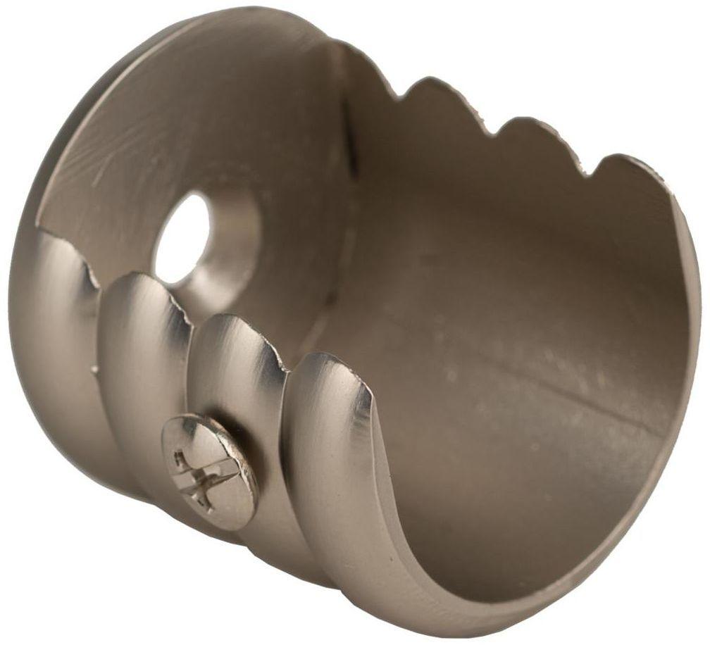 Wspornik do karnisza 25 mm międzyścienny chrom mat INSPIRE
