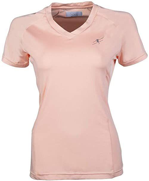 HKM Koszulka T-Shirt morelowy S