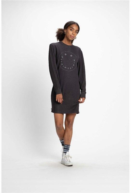 sukienka NIKITA - Nessy Dress Charcoal (CHA)