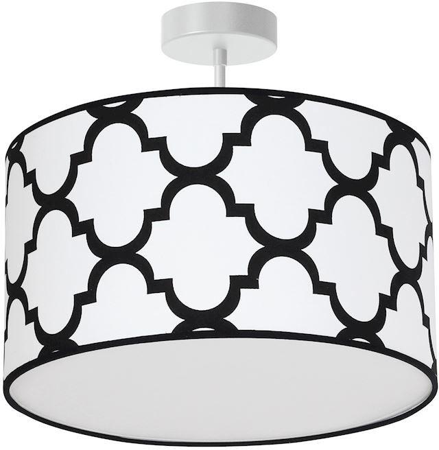 Milagro PIERRE WHITE MLP4407 plafon lampa sufitowa biały abażur 1xE27 35cm