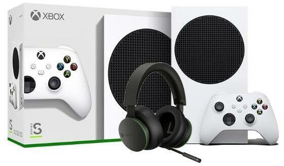 Xbox Series S + Xbox Series Stereo Headset - Kup na Raty - RRSO 0%