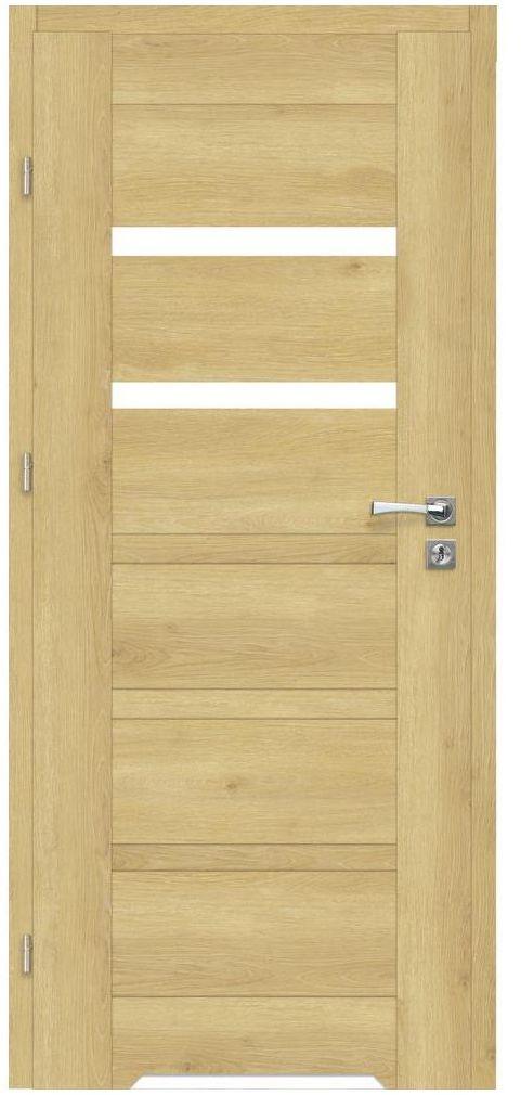Skrzydło drzwiowe z podcięciem wentylacyjnym ETNA Dąb piaskowy 80 Lewe ARTENS