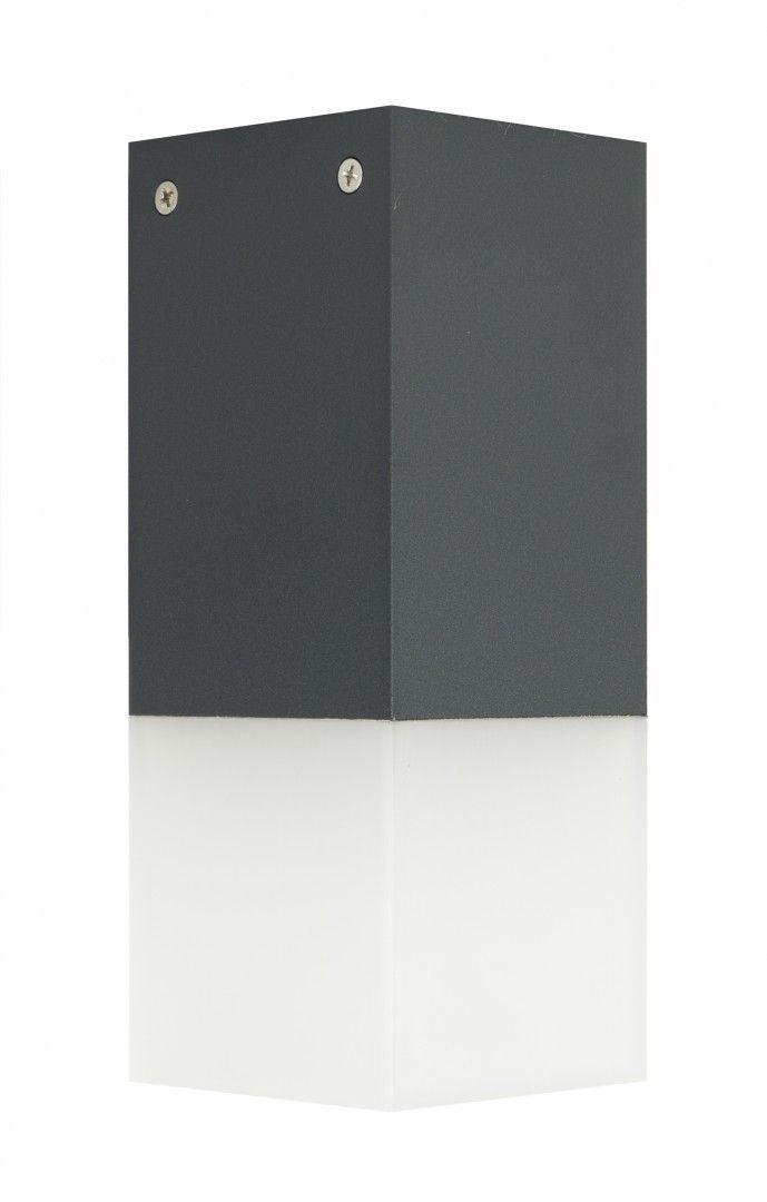 SU-MA Cube CB-S DG oprawa sufitowa ciemny popiel E27 IP44