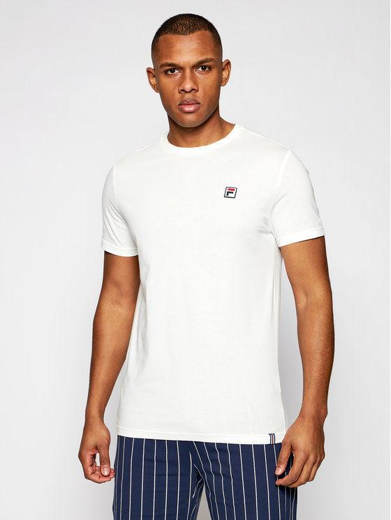 Fila T-Shirt Samuru 688567 Beżowy Regular Fit