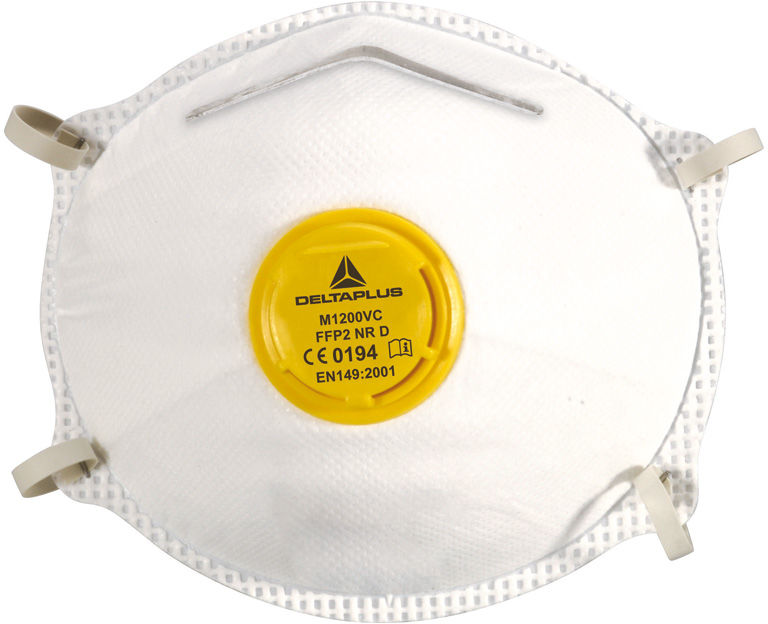 Półmaska maska P2 przeciwpyłowa M1200V - 10 szt