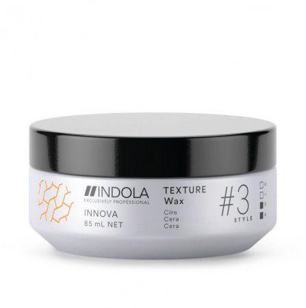 Indola Innova Texture lekki wosk do włosów 85ml