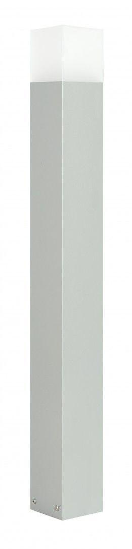 SU-MA Cube Max CB-MAX 1000 AL lampa stojąca srebrna E27 IP44 100cm
