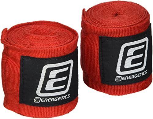 Energetics Bandaż bokserski Elastic TN, czerwony, jeden rozmiar