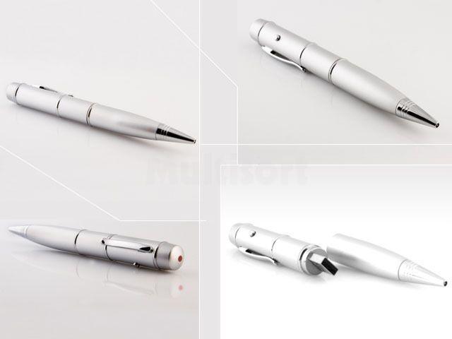 Wskaźnik laserowy z długopisem i pendrivem 16GB