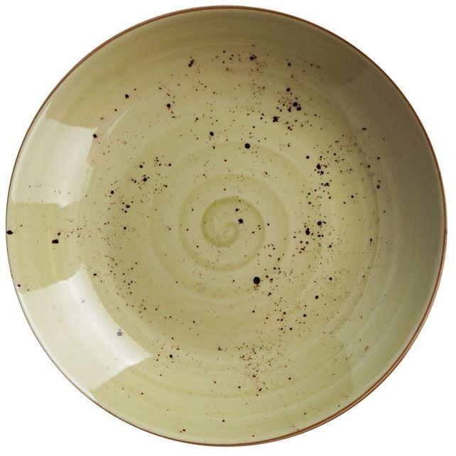Talerz porcelanowy głęboki Olive
